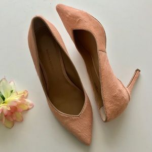 Banana Republic Blush Calf Hair Pumps